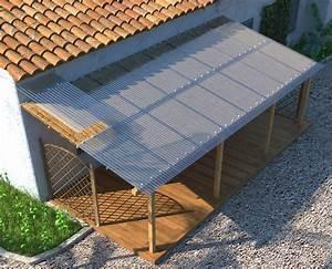 Plaque Ondulée Pour Toiture : tole ondul e translucide polyester plaque toiture onduclair ~ Premium-room.com Idées de Décoration