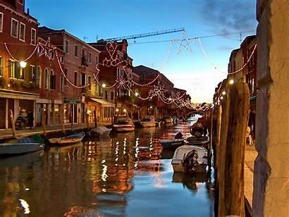 Christmas Italy Vacation Venice Murano Around Desktop