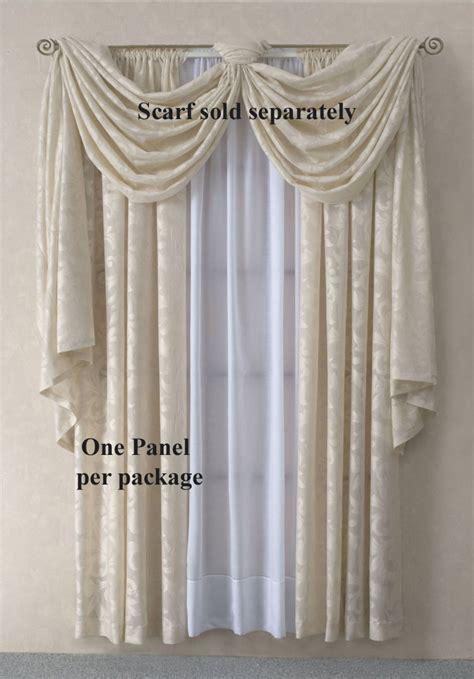 curtain scarves valances brick rust scarf sheer voile