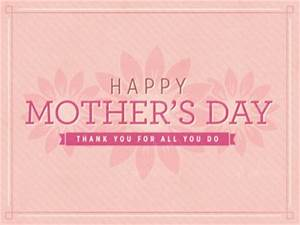 Happy Mother's Day Pink Flowers | Igniter Media ...