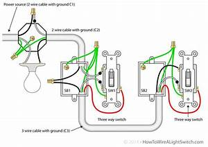 Three Way Circuit Wiring Diagram