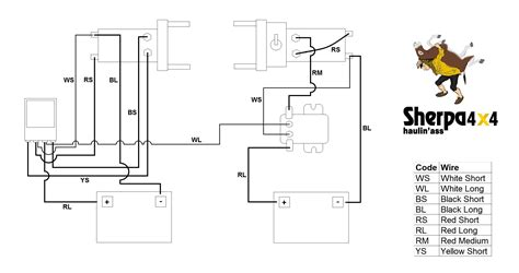 Winch Wiring Diagram Free For You Volt Solenoid