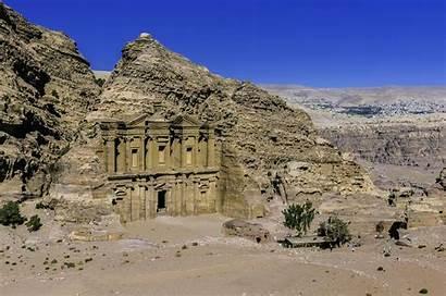 Petra Desert History Arab Ancient Mountains Wallpapers