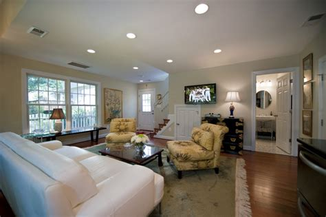 law suite addition traditional family room dc