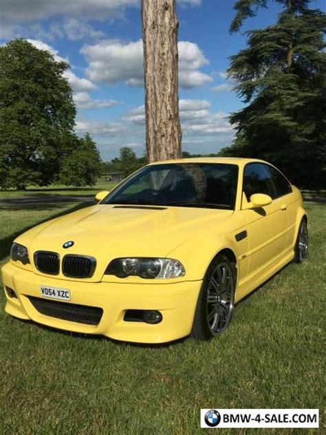m3 bmw e46 yellow dakar 2004 smg fsh individual excellent condition rare 1450