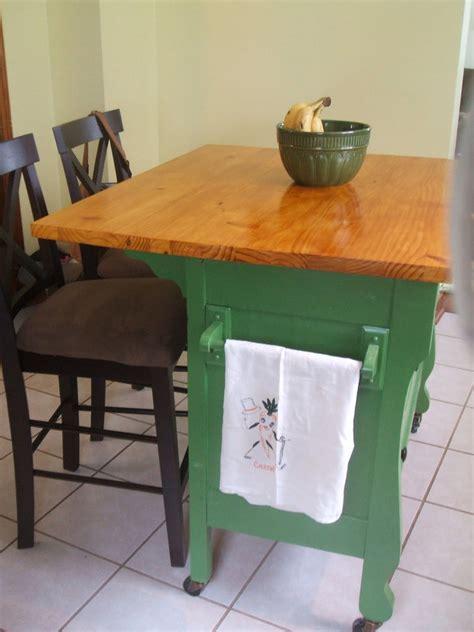 diy dresser into kitchen island diy dresser kitchen island the owner builder network 8748