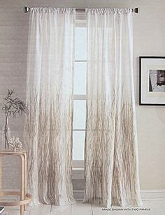 dkny modern velvet curtain panels hillcrest wide stripes curtains 2 panels 52 x 96 quot eyelet