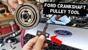Ford Crankshaft Pulley Alignment Tool  Timing Crankshaft Pulley