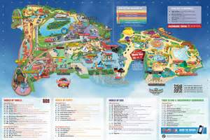 Dream World Gold Coast Map