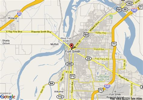 Sofa City Rogers Avenue Fort Smith Ar by Map Of Courtyard By Marriott Downtown Ft Smith Fort Smith