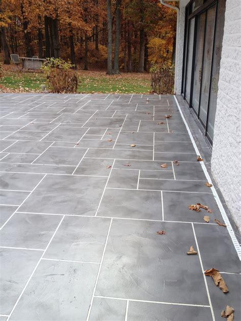Troweled Concrete Overlays  Decorative Concrete Of