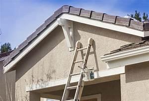 Peinture Pour Façade De Maison : peinture ext rieure r novation r fection travaux de ~ Premium-room.com Idées de Décoration