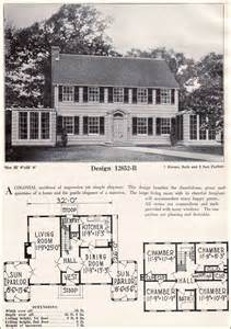 simple 1920s home plans ideas photo absolutely symmetrical colonial revival c l bowes
