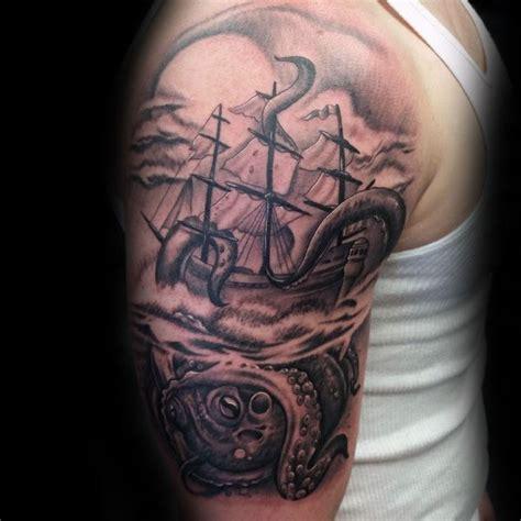 kraken tattoo designs  men sea monster ink ideas