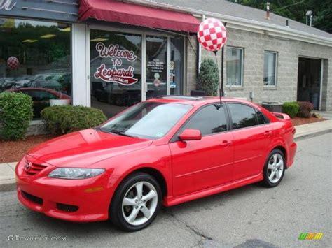 2005 Volcanic Red Mazda Mazda6 I Sport Hatchback #10789559