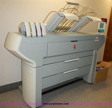 oce colorwave  printer  reserve auction  thursday