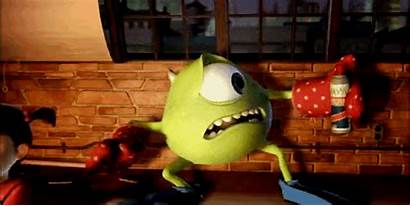 Mike Wazowski Monsters Inc Gifs Funny Monster