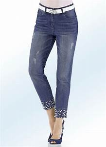 Jeans Mit Strass Und Perlen : 7 8 jeans in 2 farben mit perlen und strasssteinbesatz hosen bader ~ Frokenaadalensverden.com Haus und Dekorationen