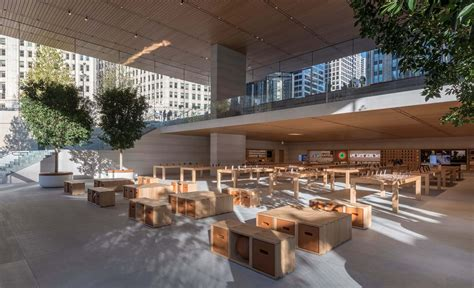flagship apple michigan avenue on the chicago river opens