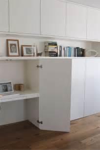 meubles de bureau ikea un bureau discret et beaucoup de rangement bidouilles ikea