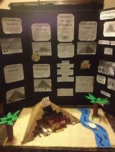 DIY ancient Egypt pyramids school project for fair | Diy ...