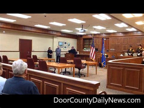 door county circuit court inauguration day door county sheriff and door county