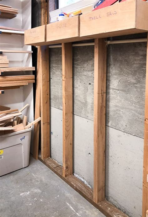 Garage Shelving Between Studs by Between The Studs Shelves For Your Garage Or Shed The