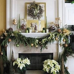 Christmas decoration ideas for fireplace ideas for home for Holiday fireplace mantel decorating ideas