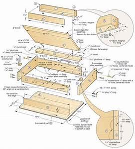 lap desk woodworking plans – furnitureplans