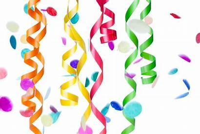 Streamers Confetti Clipart Holidays June Birthday Party