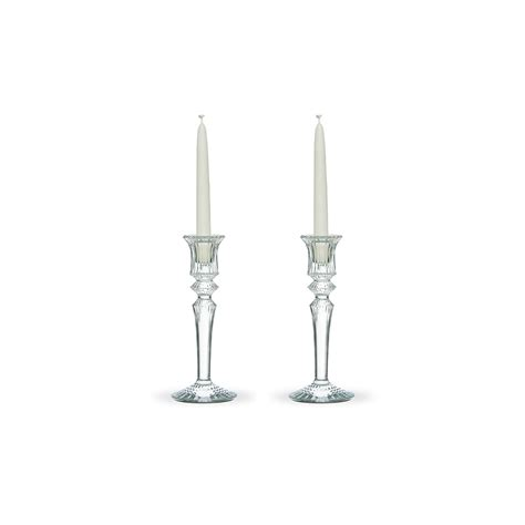 candelieri in cristallo set 2 candelieri mille nuits in cristallo baccarat