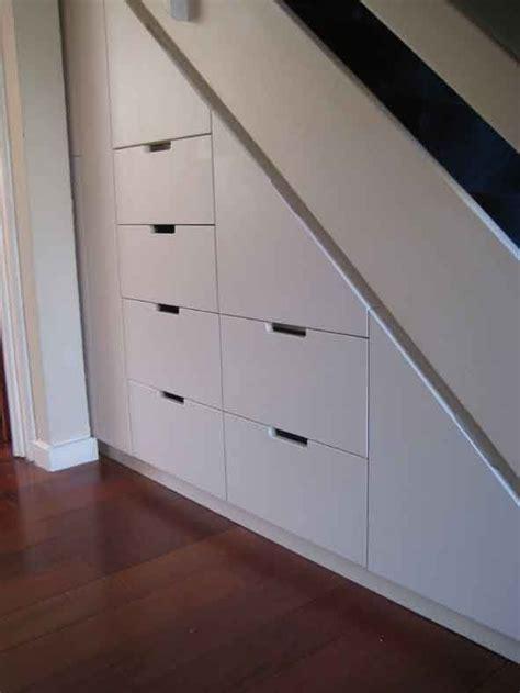 elegant  stair storage ideas  love    filing cabinets   goal