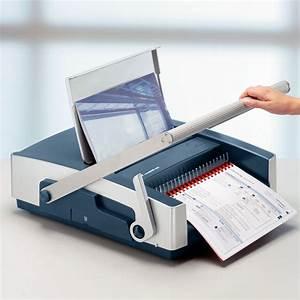 Leitz Esselte Cb500 Manual Comb Binding Machine