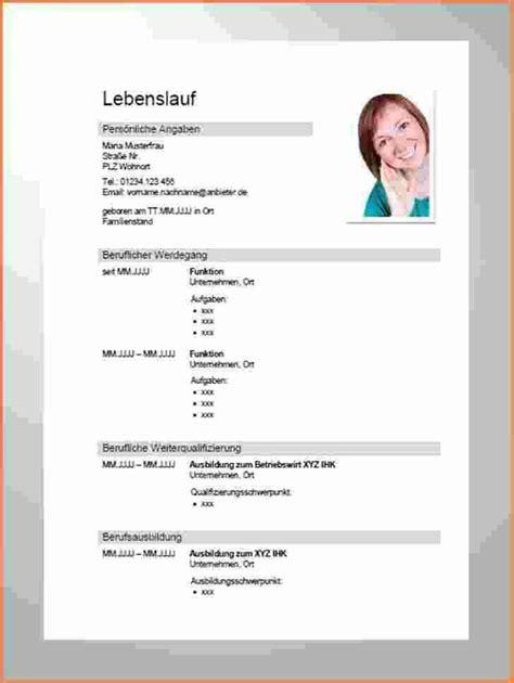 Vorlage Lebenslauf Ausbildung by 18 Vorlage Moderner Lebenslauf Sporting Lincs