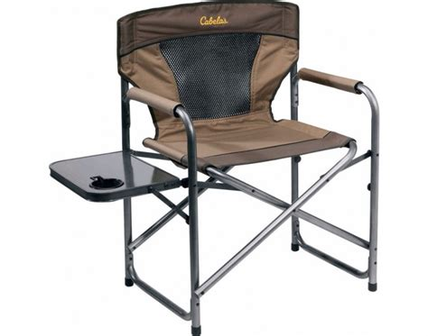cabelas folding chair with side table family cer essentials outdoorhub