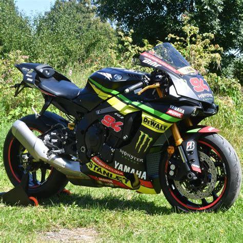 Motorradaufkleber  Bikedekore  Wheelskinzz Yamahar1