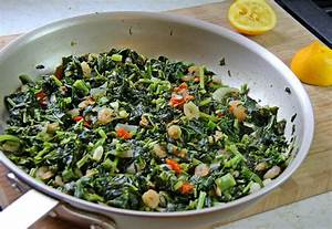 Jamaican Callaloo With Shrimp. | CaribbeanPot.com