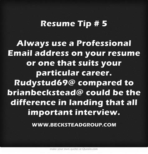 Professional Email Address For Resume by 15 Best Images About Resumes And Cover Letters On Traditional Resume Tips And