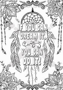 Printable Coloring Sheets For Adults Quotes About