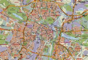 map of map of poznan