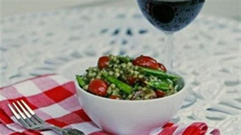 pesto pearl couscous salad recipe  tablespoon