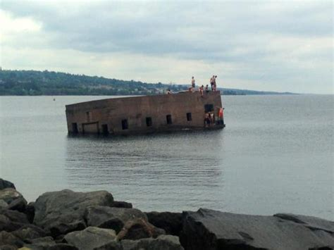 Boat Club Duluth Reviews by Sunken Building Picture Of Canal Park Duluth Tripadvisor
