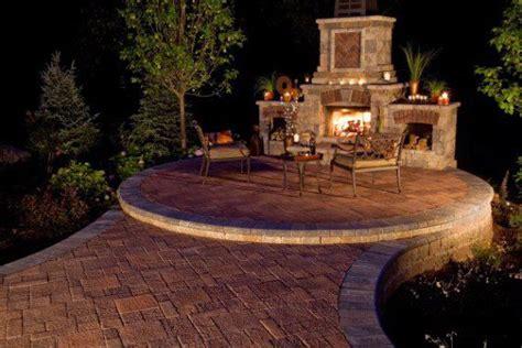 unilock fireplace cost photos