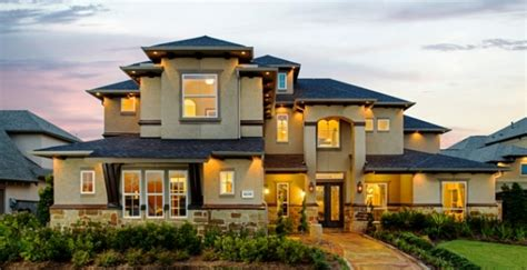 exterior lighting and accents are distinctive