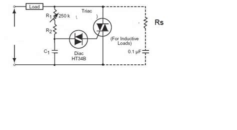 Triac Speed Control Induction Motor Using Dimmer