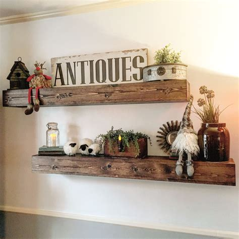 handcrafted floating shelves home diy home decor home decor accessories home decor