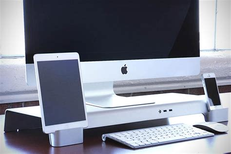 bureau apple uniti stand is de beste bureau organizer voor je apple