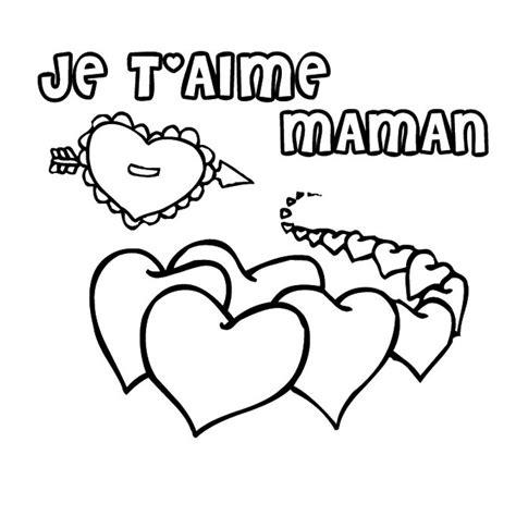 dessin de cuisine à imprimer coloriage coeur maman a imprimer gratuit