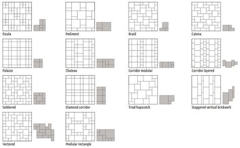 three tile pattern layout eye catching tile patterns flooringinc blog