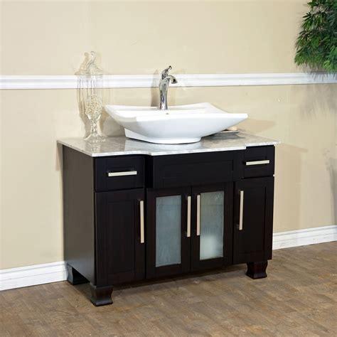 single vessel vanity 40 quot canete single vessel vanity bathgems com